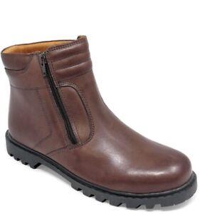 taille pour en hommes cuir anglais Bottes doublées Pegasus 12 taille marron sherpa 8xqSaffw
