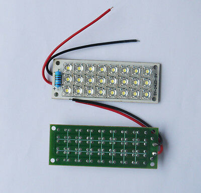 5V 24-LED Super Bright White Piranha LED Board Night LED Lights Lamp Street Lamp