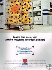 Publicité advertising 1996 Les magasins Super U Hyper U