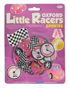 Oxford Children's Bicycle Snap On Little Racer Spokies Rose (ben 6)-afficher Le Titre D'origine