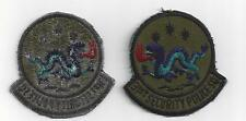 U.S. AIR FORCE PATCH-VINTAGE VIETNAM ERA 31st SECURITY POLICE SQUADRON - SUBDUED