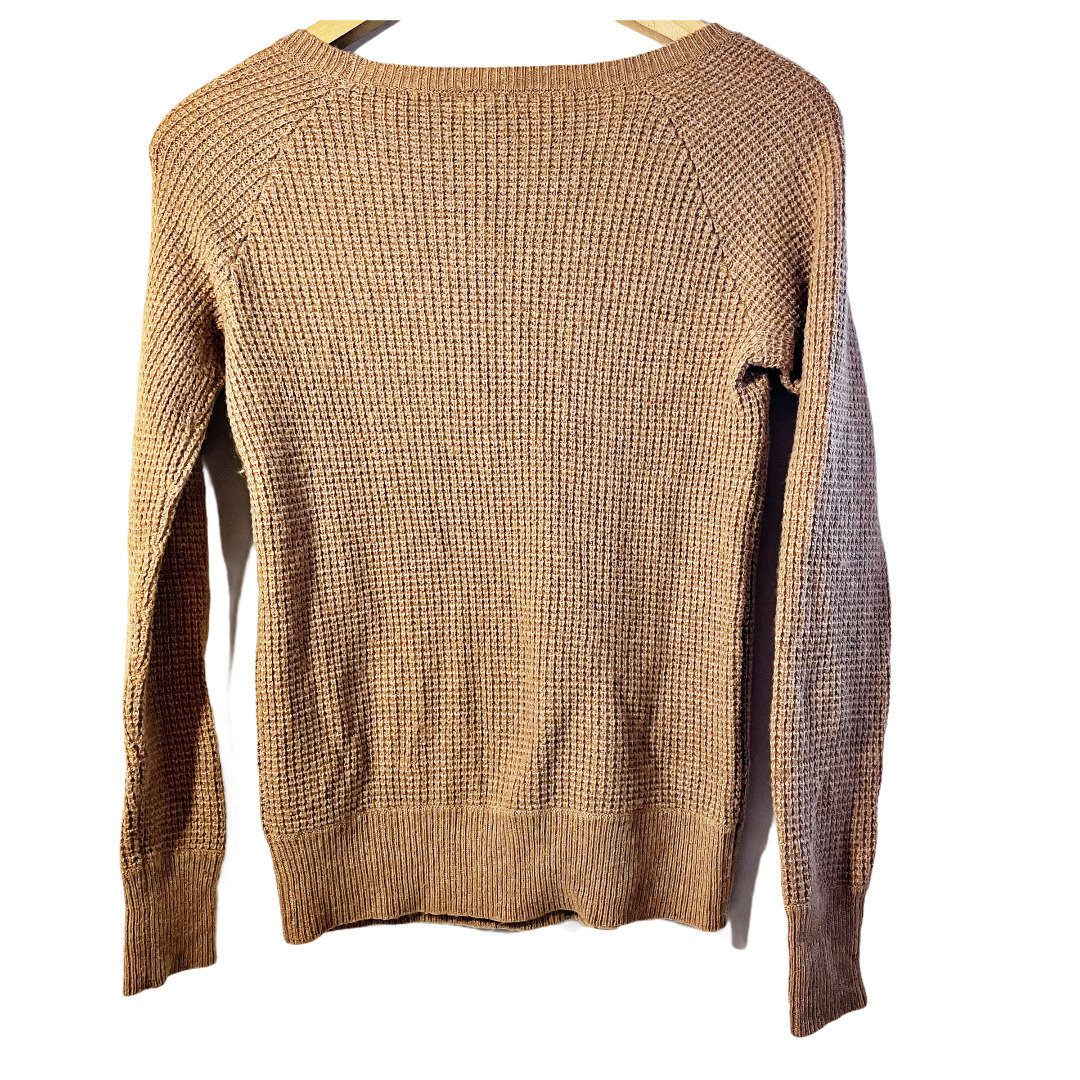 J.Crew Waffle Knit Textured Sweater Small - image 3