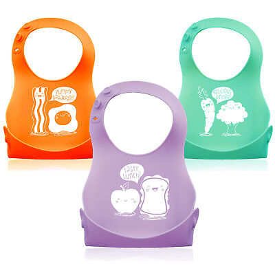 4 Pack Soft Silicone Tip Baby Feeding Spoons Designed by Monkey Loves Tom