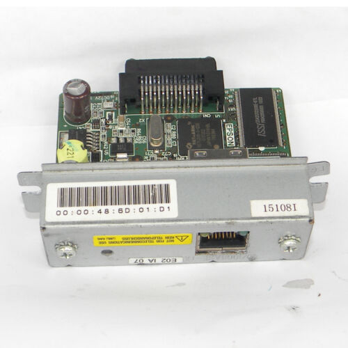 E PSON  88IV 88V 88III  network RJ-45 Adapter M155B CARD UB-E02 for T88IV M129H