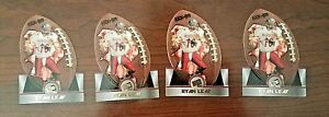 Lot-of-Four-1998-Ryan-Leaf-Press-Pass-Die-Cut-Rookie-Cards-Stocking-Stuffer