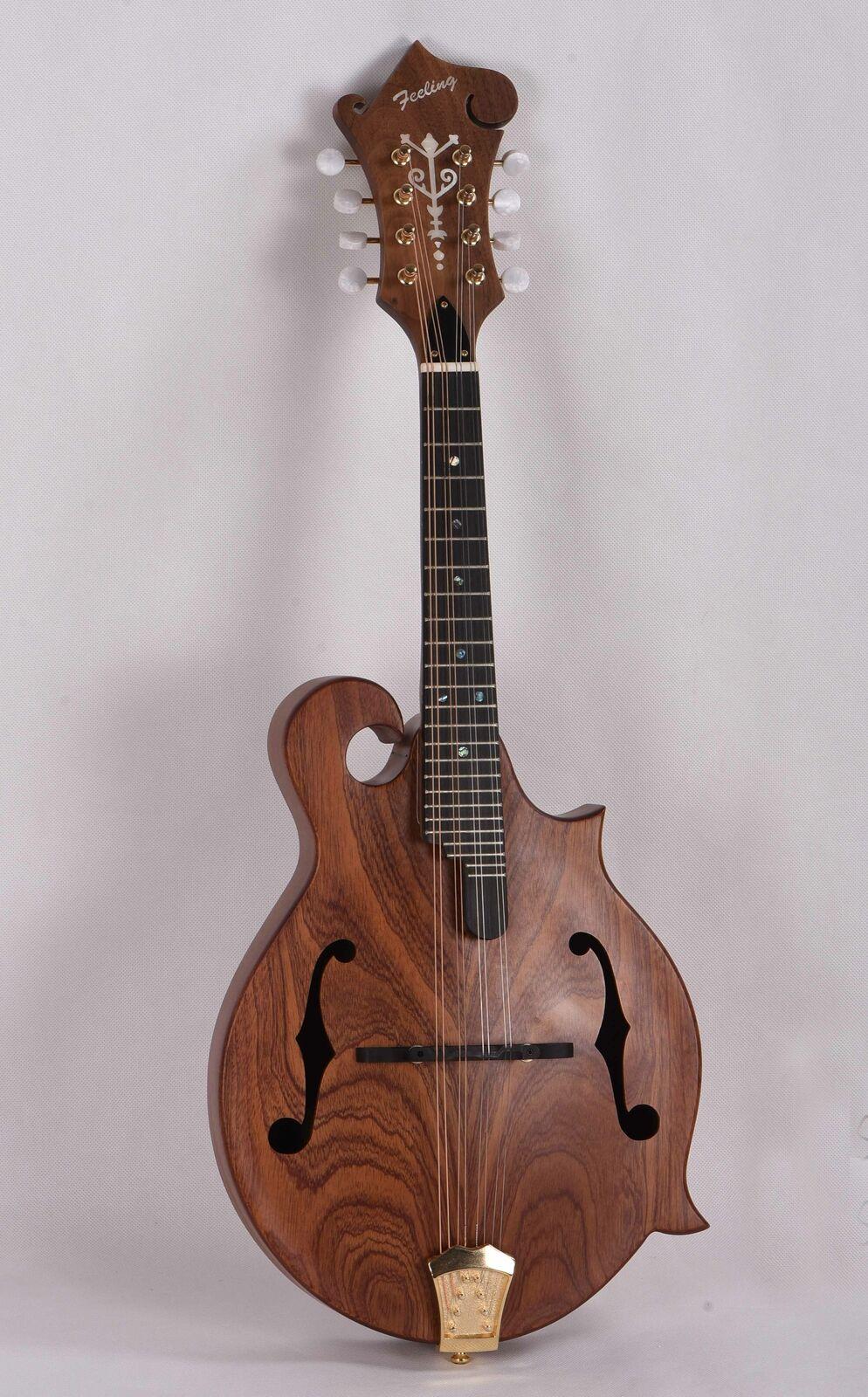Feeling Handmade F Stil Mandoline, S86, Solid Mahagoni Top,Free shipping