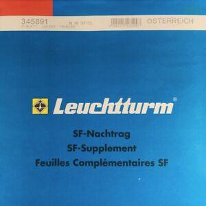 Copieux Leuchtturm Sf Supplémentaire Autriche L'année 2013-afficher Le Titre D'origine