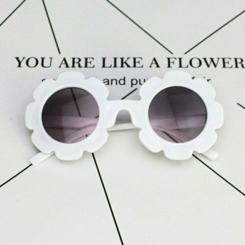 Cute Baby Boy Girl Flower Frame Goggles Toddler Infant UV400 Sunglasses New