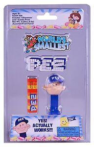 world's smallest toys World's Smallest Pez Dispensers PEZ BOY