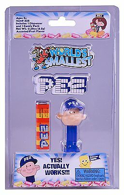 Other Action Figures Flight Tracker World's Smallest Toys World's Smallest Pez Dispensers Pez Boy Luxuriant In Design