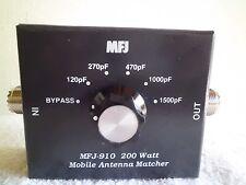 MFJ-910 200W Amateur and CB Radio Antenna Matcher Matchbox 10-80M