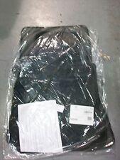 OEM GENUINE MERCEDES BENZ CARPET FLOOR MATS BLACK W126 560SEC 500SEC 380SEC