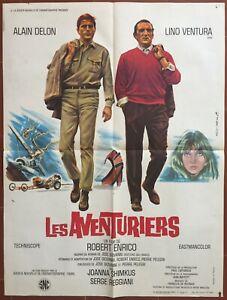 Plakat Les Abenteurer Robert Enrico Alain Delon Lino Ventura 60x80cm