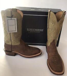 Square Toe Wild Boar Suede Cowboy Boots