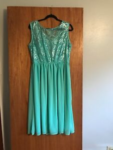 plus size Mint green Club L sequin dress UK size 26 new with tags | eBay