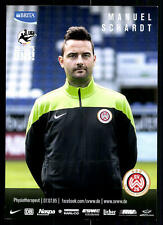 Manuel Schardt SV Wehen Wiesbaden 2014-15 Original Signiert + A 84809