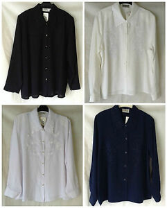 NEW-WOMENS-SIZES-12-34-EMBROIDERED-LONG-SLEEVE-BUTTON-FRONT-COLLARED-BLOUSE-TOP