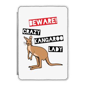 Cuidado-Crazy-CANGURO-Lady-Funda-para-Kindle-6-034-E-Reader-Divertido-Australia
