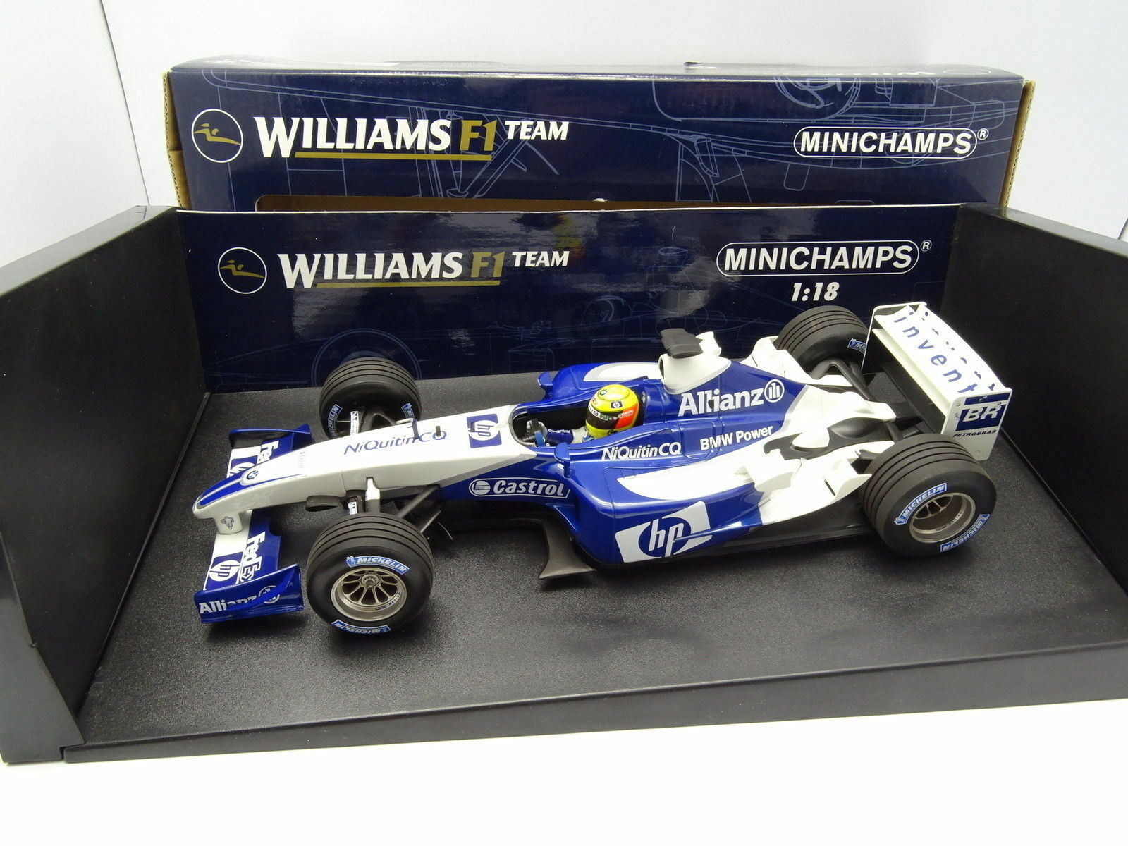 Minichamps 1 18 - F1 Williams BMW FW25 R Schumacher