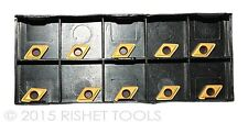Accusize Tools 2124-1026x10 TCMT1.81 Carbide Inserts TiN Coated,10 Pcs//Box