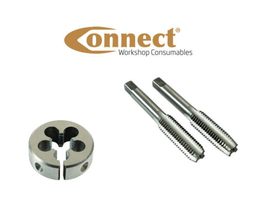 M12 x 0.75mm 3pc Taper Tap Plug Tap and Split Die Set by Connect