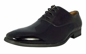 Lace Tuxedo Black Cravate Mens Chaussures Cruise Patent Goor Up Pu Dance nv8wN0Oym