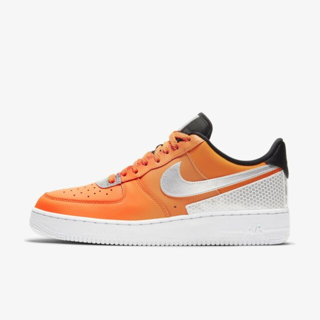Size 11.5 - Nike Air Force 1 x 3M Total Orange for sale online | eBay