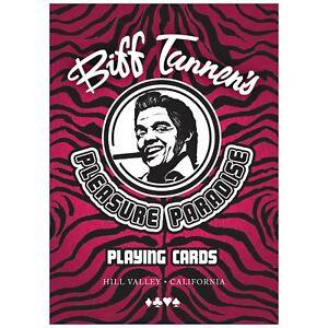 Retour-vers-le-futur-2-Biff-tannens-Pleasure-Paradise-Cartes-a-Jouer