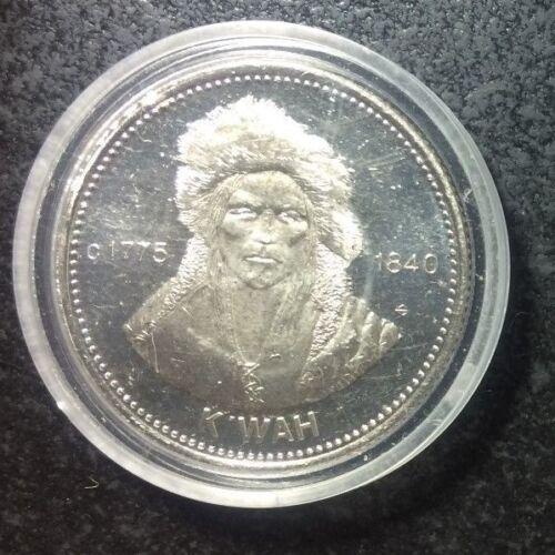 1978 British Columbia Carrier Dollar K.WAH ~ Proof like surfaces~ Nice !