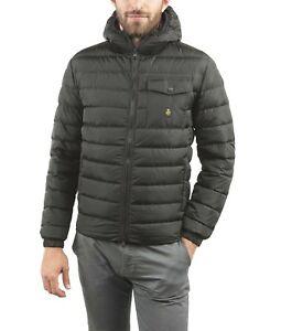 Refrigiwear Hunter Daunenjacke mit Kapuze Herren schwarz in