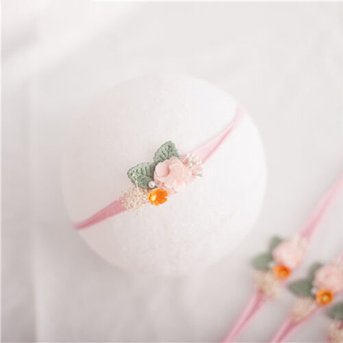 Newborn Photography Props Headband Girls Boys Baby Photo Head Flower Headwear