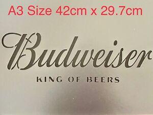 A3 Beer Stencil Bar Sign Garden Large Reusable Wall Craft Decor Pub Sign
