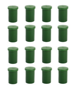 20 x Film Canisters Green Geocaching Hiding Place Micro New
