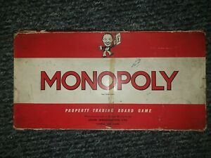 Vintage-Waddingtons-Monopoly-Classic-1961-Board-Game