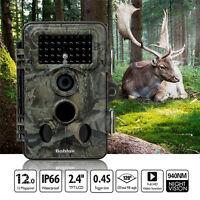 Trail Camera For Wildlife Observation Farm Monitor House Surveillance Dvr Home