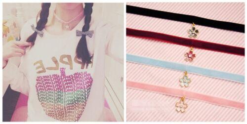1pc Harajuku Girls Lady Sakura Pendant Robe Necklace Necklet Gifts
