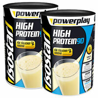 Isostar Powerplay High Protein 90 Drink Doppelpack 2x750g Dose