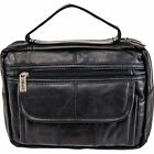 Embassy Lulbible2 Black Solid Genuine Leather Bible Cover