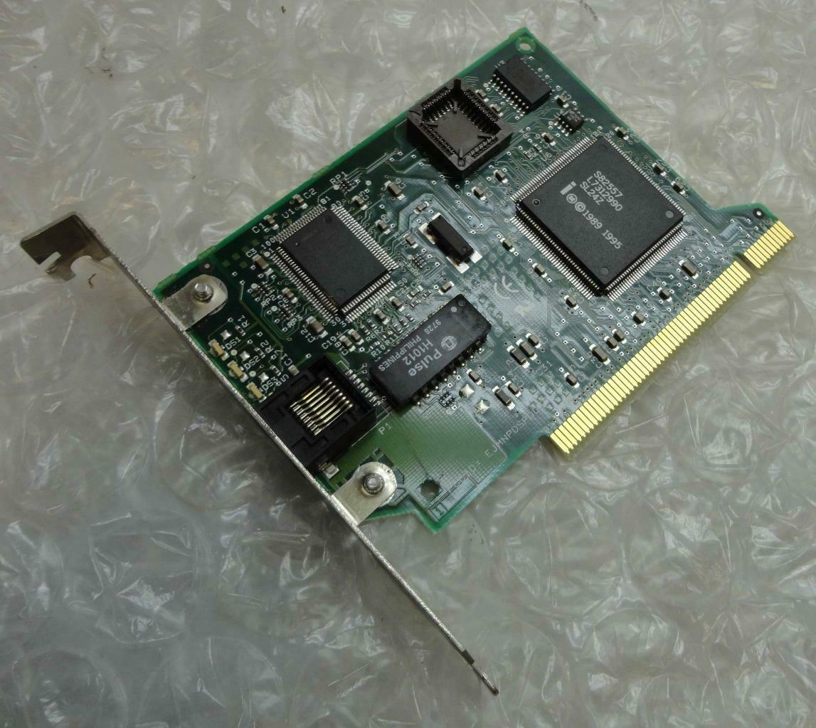 Genuine Intel EJMNPDSPD035 10/100 PCI Ethernet Network Card With Bracket