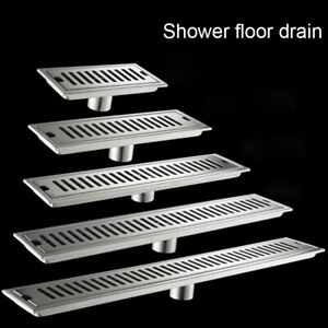 Brushed-Nickel-Shower-Drainer-Bathroom-Floor-Waste-Drain-Deodorant-Washing-Drain