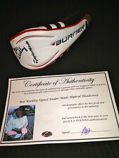 BOO WEEKLEY SIGNED AUTOGRAPHED TAYLOR MADE HYBRID HEAD COVER-EXACT PROOF COA PGA