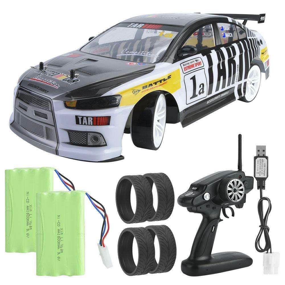 70km h 4WD alta simulación 1 10 Escala Modelo Rc Drift Coche Racing Vehículo Coche de juguete