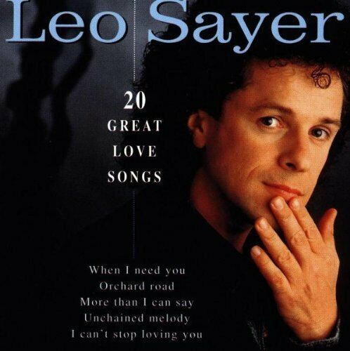 Leo Sayer [CD] 20 great love songs
