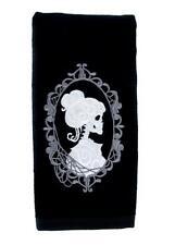 Haunted Mansion Hers Skeleton Halloween Hand Towel Kitchen Bath Gothic Home Punk