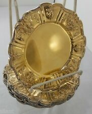 "FRANCIS I by Reed and Baron Sterling Silver 7"" BREAD & BUTTER PLATES,All VERMEIL"