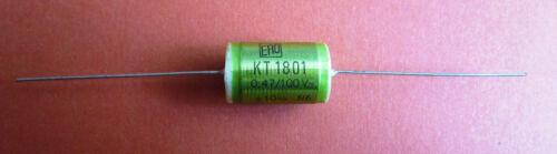 10/% diapositivas condensadores axial ero kt1801 5 x 0,47µf//100v