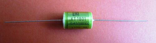 10/% diapositives Condensateurs Axial ERO kt1801 10 x 0,47µf//100v
