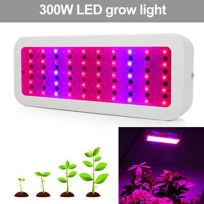 600W LED Grow Light Pflanzenlampe Vollspektrum Veg Flower Panel Lamp Gewächshaus