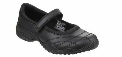 Skechers SK81264 Velocity Pouty Noires École Filles Mary Jane Chaussures Taille 28 39 | eBay