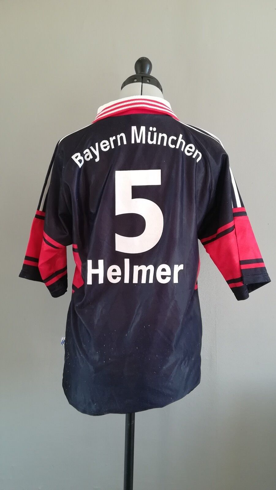 Maillot Football Collection FC BAYERN MUNICH 1998  Thomas HELMER N°5  size  S